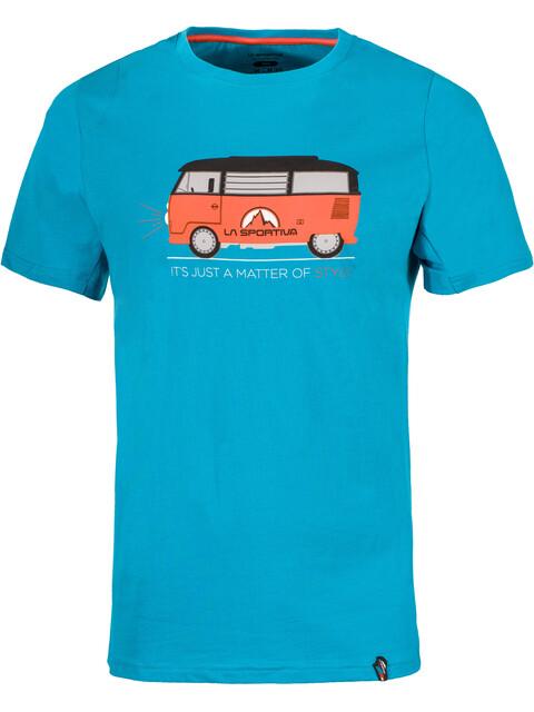 La Sportiva M's Van T-Shirt Tropic Blue